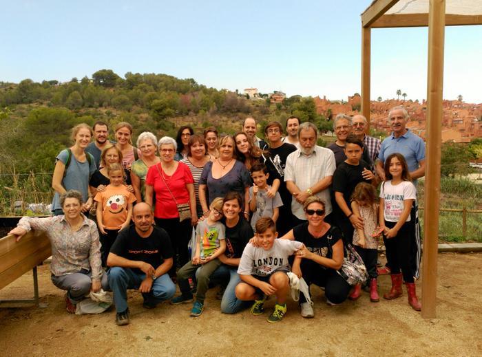 Participants dels Horts Comunitaris de Can Pinyol de la Fundació Marianao