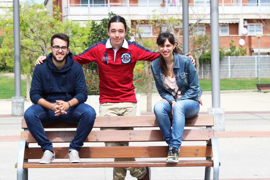 Joves del programa de participació juvenil de la Fundació Marianao