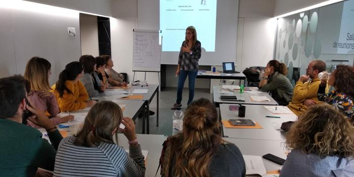 Classe de formació en ètica aplicada a la intervenció social