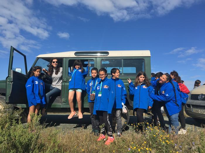 Infants de Marianao guanyen un viatge a Doñana per veure el Linx Ibèric
